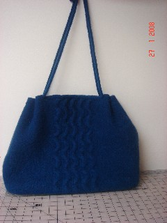 Wave Carpet Bag